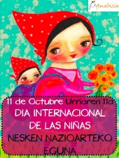 11 DE OCTUBRE DIA INTERNACIONAL DE LAS NIÑAS